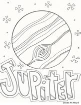 jupiter coloring pages solar system coloring pages printables classroom doodles