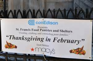 st francis food pantries shelters thanksgiving in