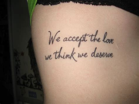 tattoo small quotes 35 splendid rib tattoos for slodive