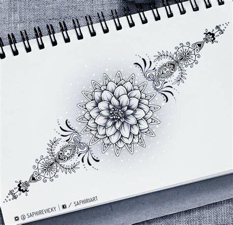 flowers drawings victoria mueller  instagram dahlia