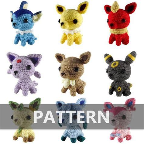 amigurumi eevee pattern 1317 best crochet images on pinterest