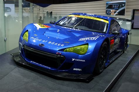 subaru brz gt300 body kit subaru brz gt300 fires up on the track first official video