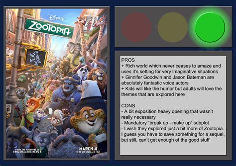 review film zootopia bagus zootopia movie review by blueprintpredator on deviantart