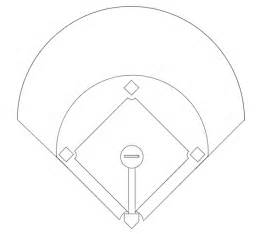 printable baseball diamond diagram