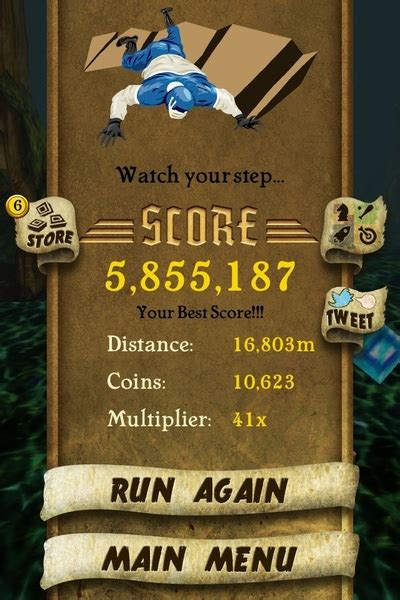 how to get temple run lovingthecrew my high score on temple run is 2 453 014 now by sucessful gentlemen