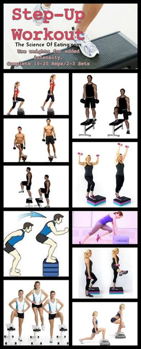 25 best ideas about step workout on step