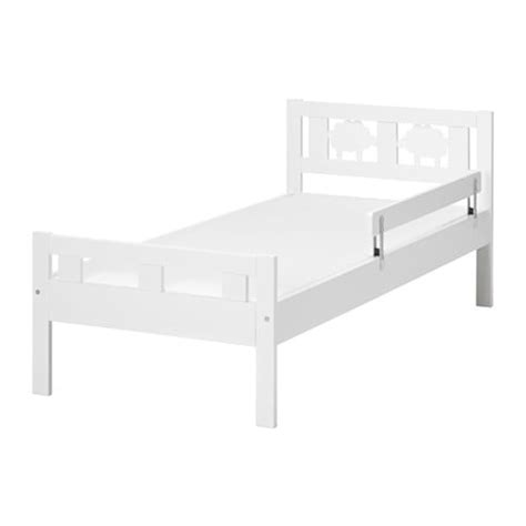 bett 70x160 kritter bed frame with slatted bed base white 70x160 cm ikea