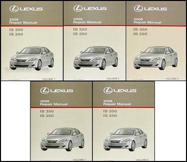 online service manuals 2008 lexus is auto manual search