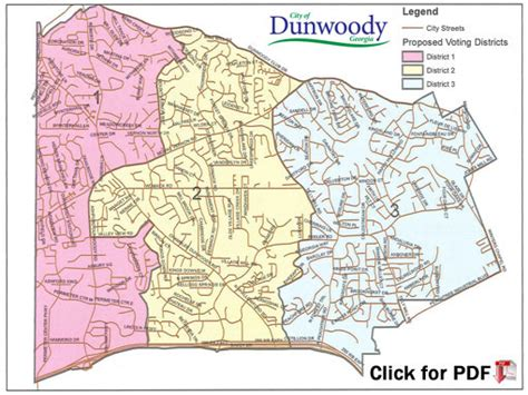 atlanta city council districts map city of dunwoody mayor and city council members