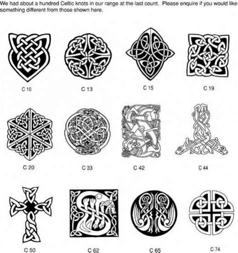celtic tribal tattoo meanings some interesting celtic symbols will carve these