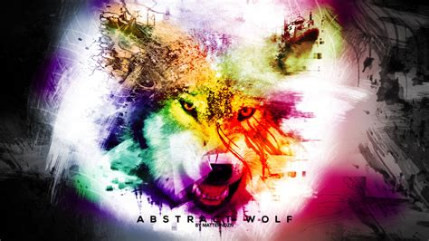 wallpaper abstract wolf abstract wolf matterndzn by matterndzn on deviantart