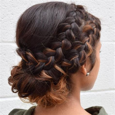 romantic updo for inverted triangle best 25 two dutch braids ideas on pinterest double