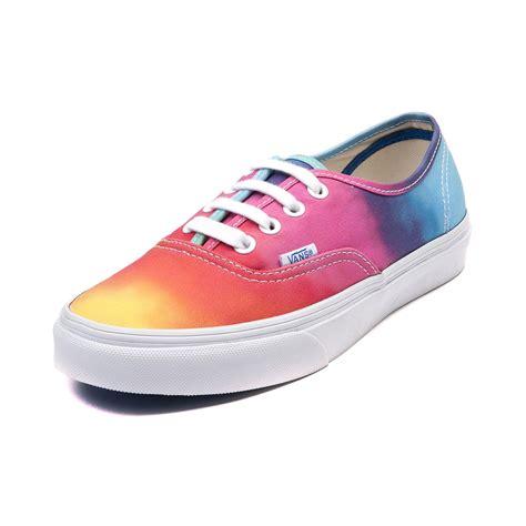 Shoes Rainbow vans authentic rainbow skate shoe skate shoes vans nike