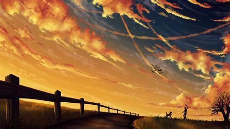 wallpaper langit langit sore by kvcl on deviantart