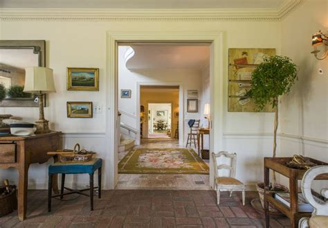 French Country Livingroom lunch amp latte oak spring farms bunny mellon s country estate