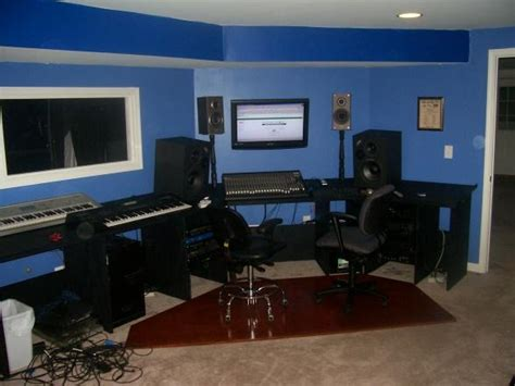 color ideas for a home recording studio