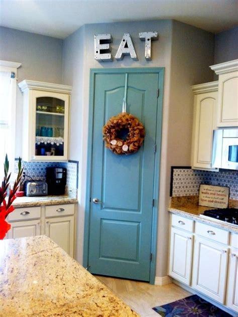 ways  spruce   pantry door painted pantry