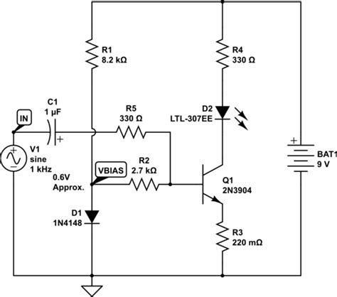 what is a dc blocking capacitor led how do i lify a dc voltage that is weak to trigger the base in a transistor