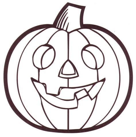 color pictures free printable pumpkin coloring pages for