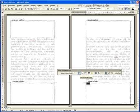 Word Vorlage Cd Aufkleber Word Mehrseitige Hefte Mit Mittelheftung Und Faltung Drucken Xp Tipps Workshops Xp Tipps
