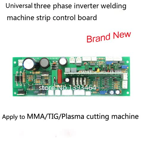 an integrated circuit factory has three machines three phase inverter welding machine circuit board contrl board for arc zx7 tig ws cut lg models