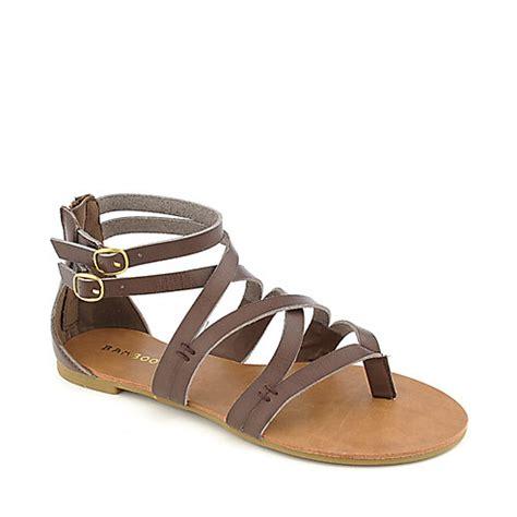 brown strappy flat sandals bamboo laguna 25 brown flat strappy gladiator sandal