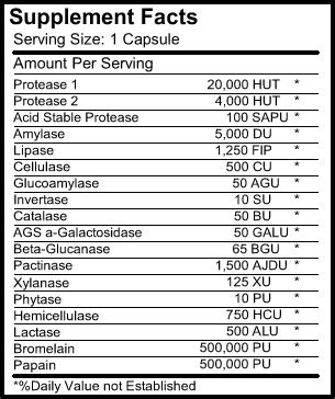 Stearic Acid 500 Gram lectro plantzymes 90 capsules 500 mg