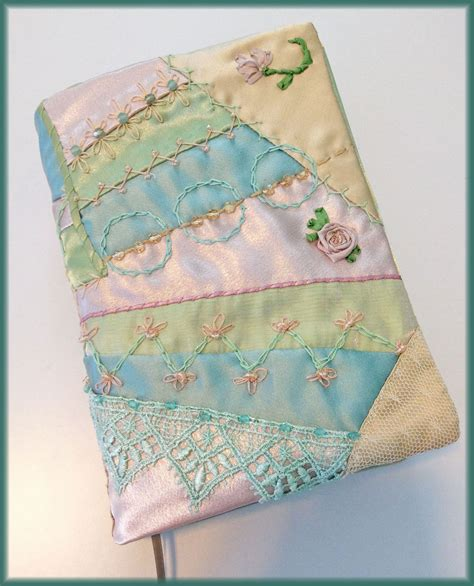 quilted book cover part i yesterday s thimble