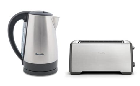 breville comfort kettle win a breville stainless steel kettle and breville toaster