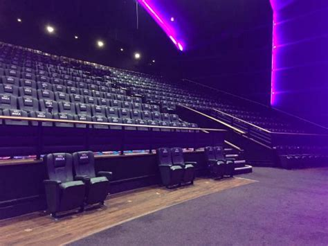 comfortable cinemas london inside view of the seating in the imax screen picture