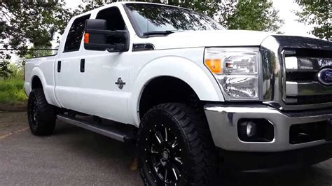 Box 35s 2011 ford f350 lariat lifted on 35 s langley trucks 1