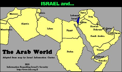 world map with country names in arabic the new israel palestine israel conflict