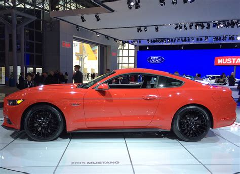 Mustang New York Auto Show 2015 by 2015 Ford Mustang Gt At The 2014 New York Auto Show