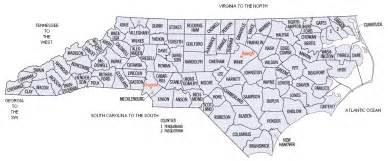 carolina state map printable beautiful scenery