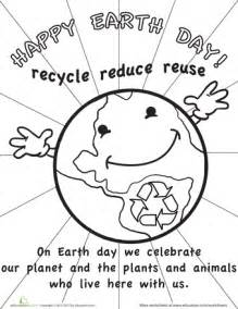 Recycle reuse learn 9 earth day printables education com