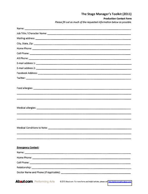 information sheet templates employee information sheet