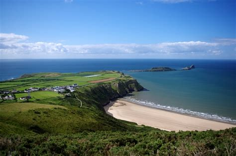 Rhossili Bay Cottages by Rhossili Cottage With Uninterrupted Views