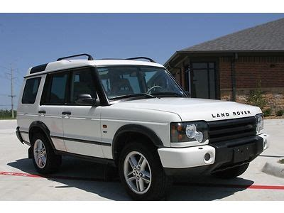 auto air conditioning service 2003 land rover discovery user handbook buy used 2003 land rover discovery se7 in dunbarton new hshire united states for us 2 500 00