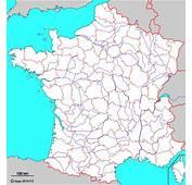 France Fond De Carte D&233partements Et Fleuves