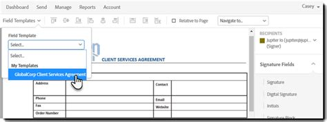 use a form field template