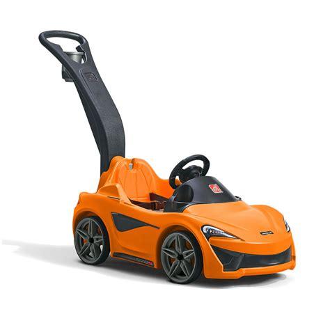 kid play car mclaren 174 570s push sports car ride on step2