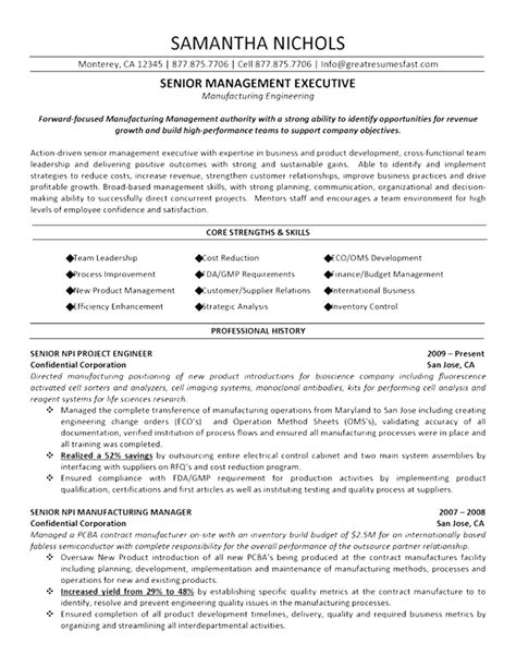 Free Sle Of Resume In Word Format by Sle Resume Ms Word Format Free 28 Images 6 Device