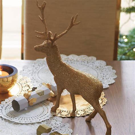 gold reindeer decoration 28 images gold reindeer