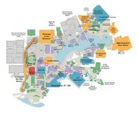 Map Of Universal Studios Orlando by Work The Animated Pencil
