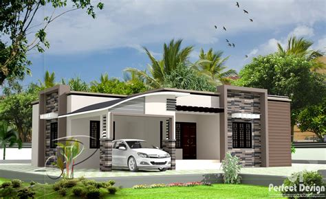 tips on home design 1300 square feet 3 bedroom single floor modern home design