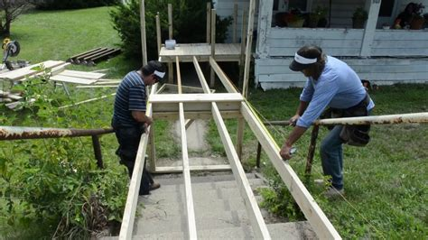 Design Basics House Plans Wheelchair Ramp Construction On Vimeo