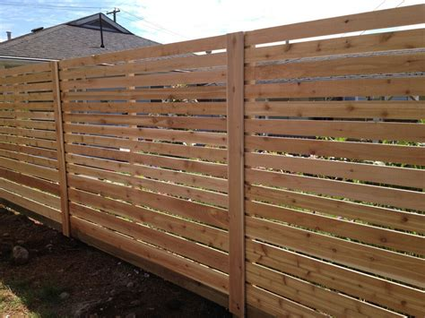 horizontal fence panel sold  home depot home depot