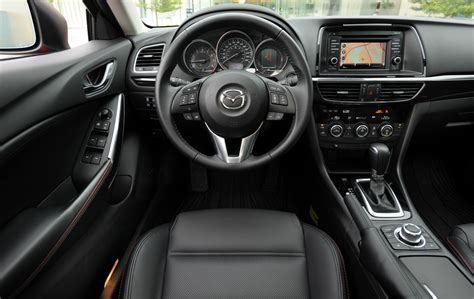 Mazda 6 2015 Interior by 2015 Mazda 6 Gt I Eloop Review Wheels Ca