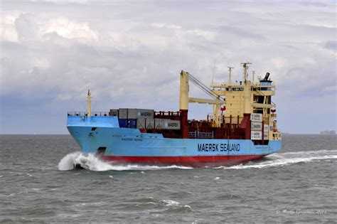 Imo Overol quot georg maersk quot kurs hamburg 19 03 2012 overall length m