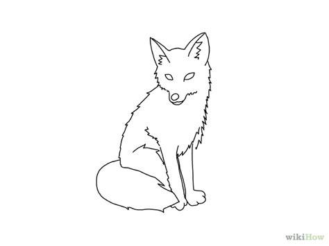 draw a fox step 17 version 2 jpg